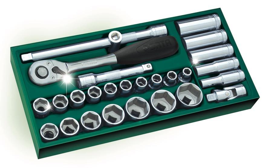 工具托组套-27件12.5MM系列套筒