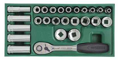 工具托组套-26件12.5MM系列套筒  09915