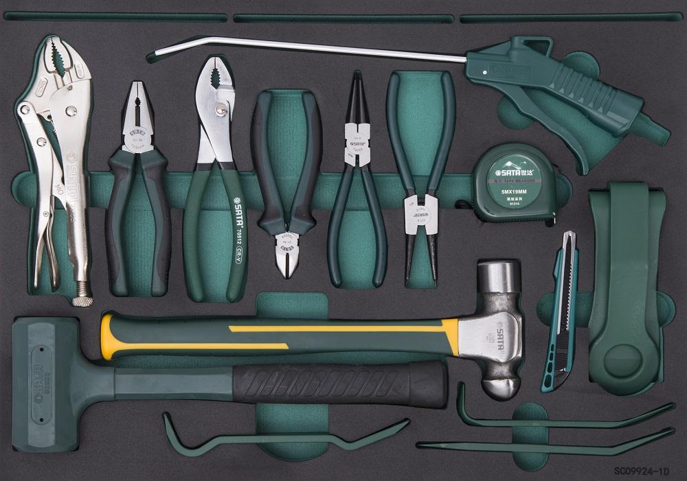 231件品牌机修工具车组套 (5抽工具车)