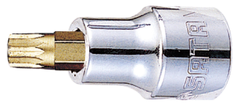12.5MM系列50MM长12角旋具套筒M16