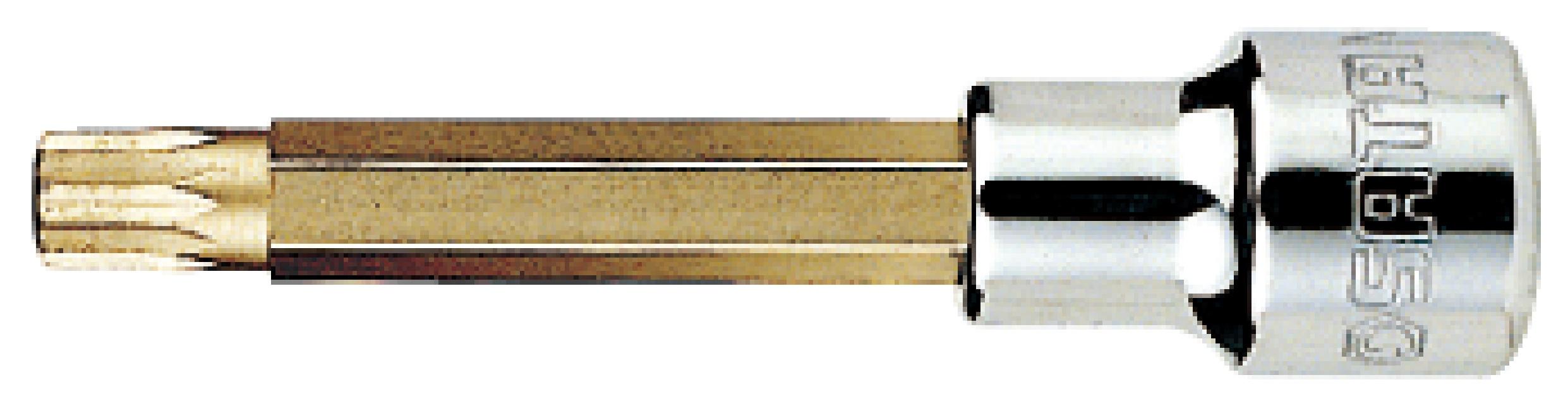 12.5MM系列100MM长12角旋具套筒M10